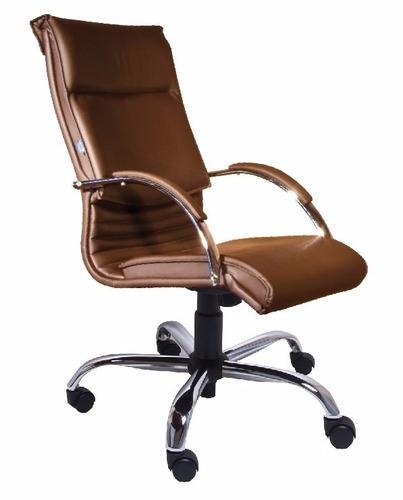cadeira escritório boss presidente cromada (100% nacional)