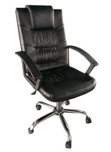 cadeira escritório executiva presidente relax couro p.u.