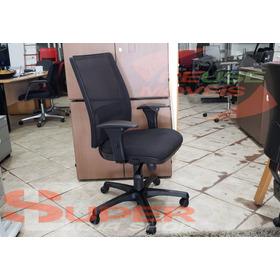 Cadeira Escritório Flexform Função Relax E Assento C/ Slita