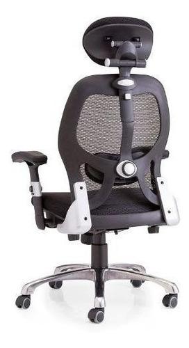cadeira escritorio new ergon presidente ergonomica