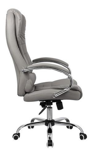 cadeira escritório presidente alta relax top seat premium