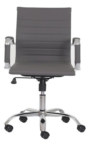 cadeira escritório stripes diretor pu várias cores