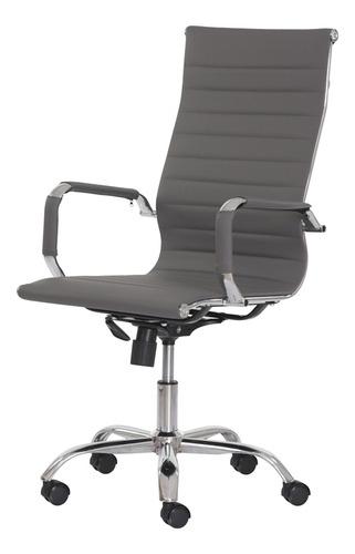 cadeira escritório stripes presidente pu várias cores