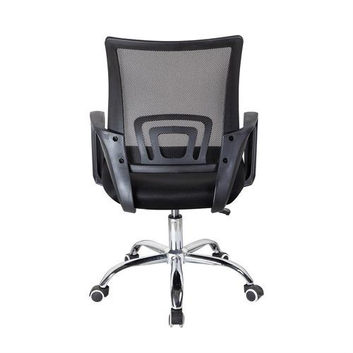 cadeira escritório trevalla tl-cde-26-1 ajuste altura preta