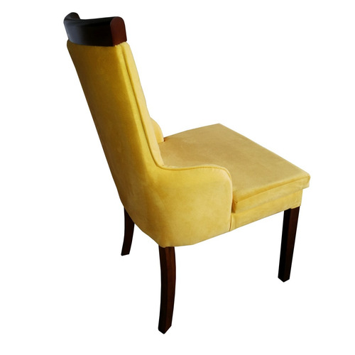 cadeira estofada isabel