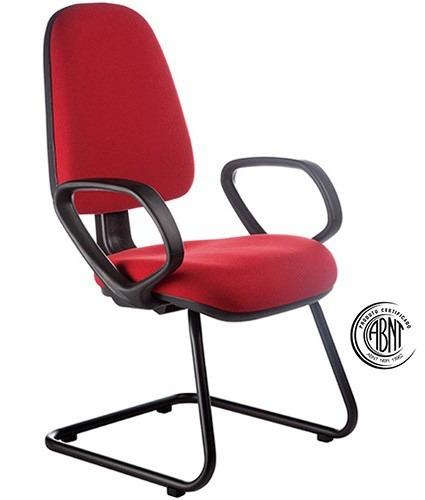 cadeira fixa continua com apoia braços certificada pela abnt