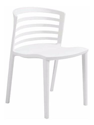 cadeira gabriela em polipropileno - cor branca