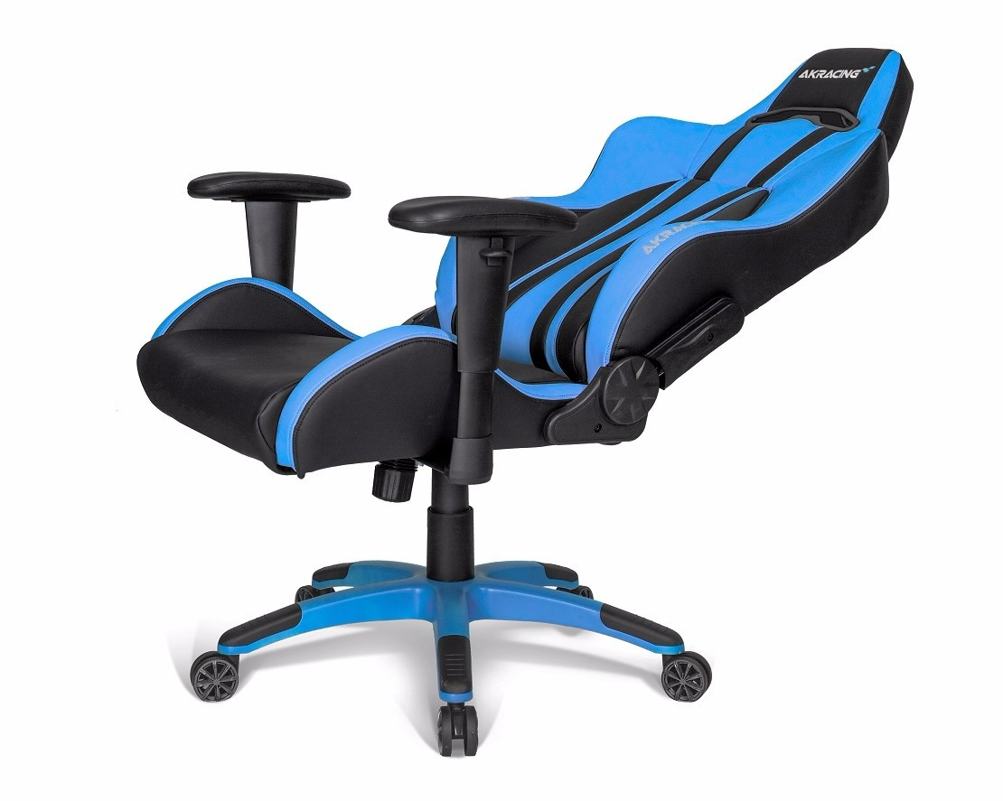 Cadeira Gamer Akracing Premium Plus Blue Ak Pplus Bl