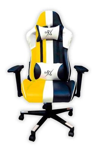 cadeira gamer br-x yellow/why/black d-363