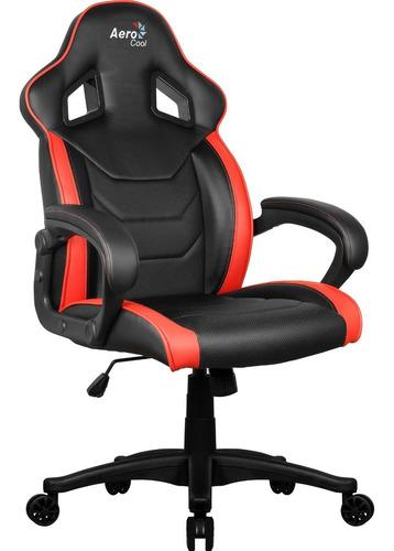 cadeira gamer com encosto fixo até 100kg ac60c air aerocool