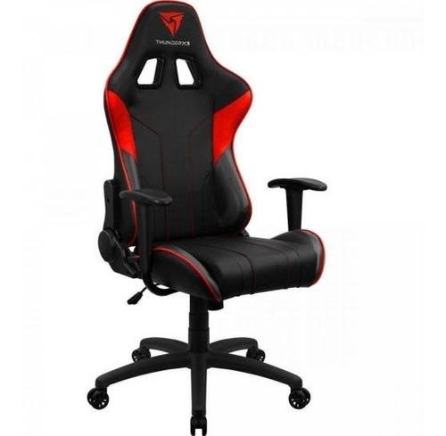 cadeira gamer moderna ec3 vermelha thunderx3 envio imediato oferta relâmpago aproveite