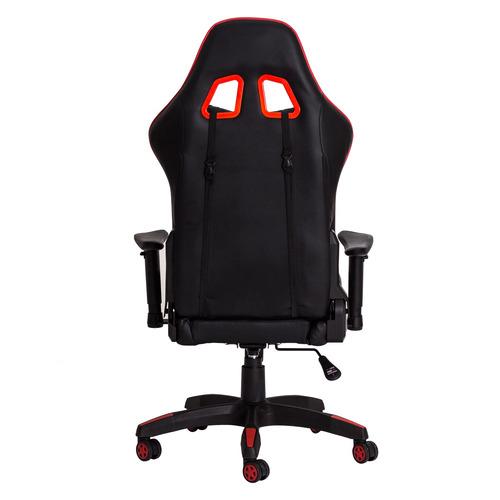 cadeira gamer racer inclinável preta c/vermelho frete grátis