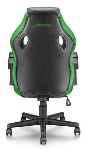cadeira gamer verde warrior - ga160