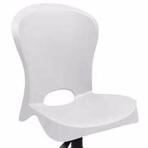 cadeira giratória - tramontina jolie com rodízio branco