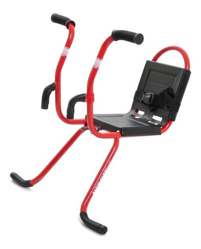 cadeira infantil para bike ciclismo altmayer al-01 vermelha