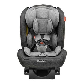 Cadeira Infantil Para Carro Fisher-price All-stages Fix 2.0 Preto/cinza