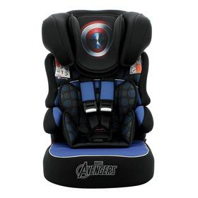 Cadeira Infantil Para Carro Team Tex Marvel Beline Luxe Capitão América