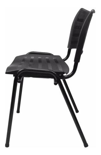 cadeira iso plástica empilhável fixa  igrejas, escola