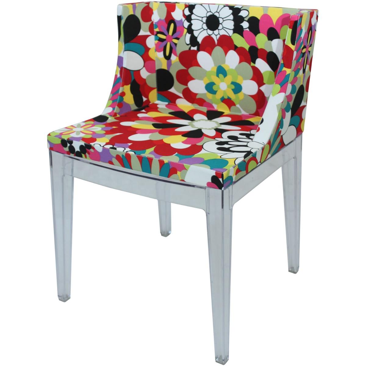 Cadeira Mademoiselle Philippe Starck Tecido Floral R$ 1.079 90 em  #AB2024 1200x1200