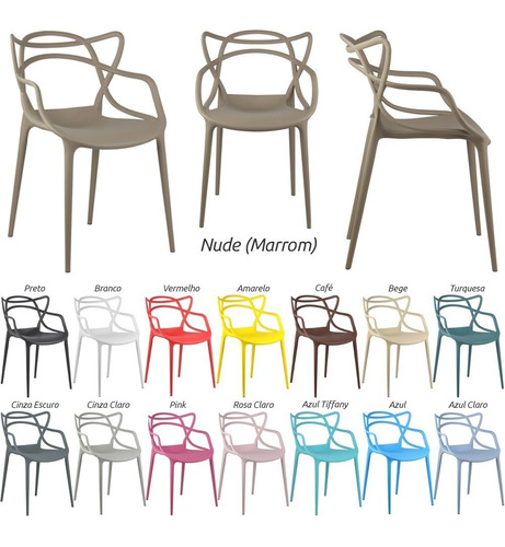 cadeira masters allegra philippe starck promoção á vista