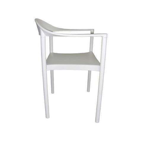 cadeira monza bar/restaurante fixa em polipropileno