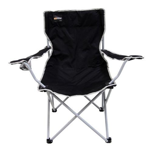 cadeira nautika preta dobrável alvorada para pescador praia