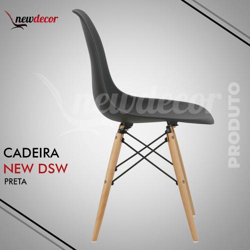 cadeira new charles eames kit 4 cadeiras dsw promoção