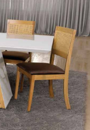 cadeira p/ mesa de jantar milão - mobillare móveis x