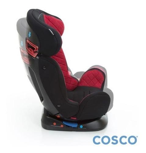 cadeira para auto avant 0-25 kg vermelha e preta - cosco