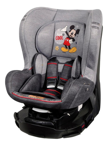 cadeira para auto disney revo denim mickey mouse - teamtex