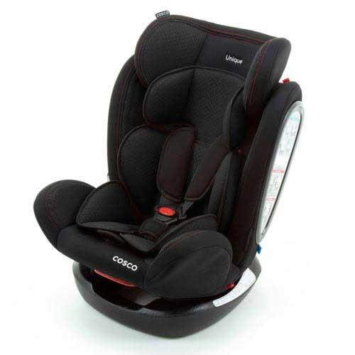 cadeira para auto unique preto sport - cosco