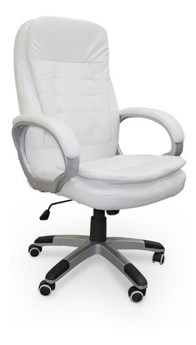 cadeira para escritório giratória - branca - lms-gu-y-2882b