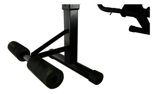 cadeira para exercicio abdominal com 20 kg  frete grátis