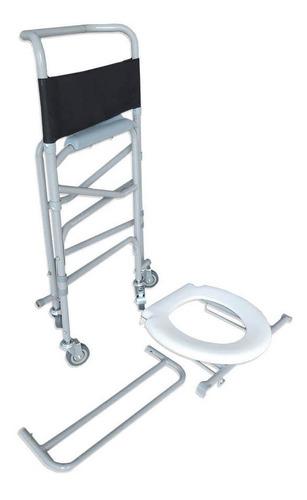 cadeira para higiene banho 3x1 multiuso anvisa desmontavel