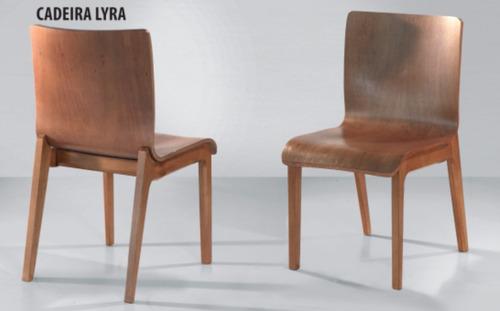 cadeira para mesa de jantar lyra móveis rafana x