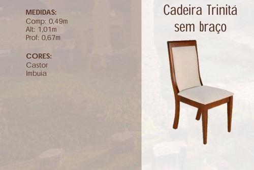 cadeira para mesa de jantar trinitá mobillare xx