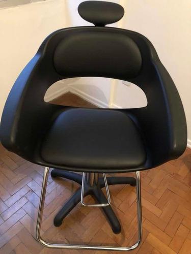 cadeira para salão, maquiadora (o) e cabeleleira (o)