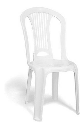 cadeira plástica tramontina atlântida, branca - 92013010