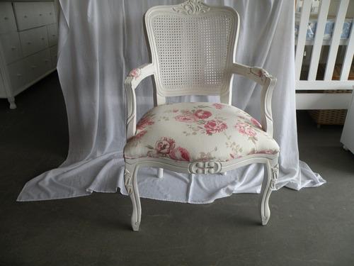cadeira poltrona amamentação luiz xv - hacke móveis