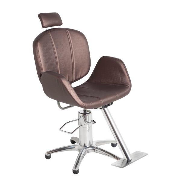 e17a672d4 Cadeira Poltrona Cabeleireiro Reclinavel Confortavel Luxo - R$ 1.589,00 em  Mercado Livre