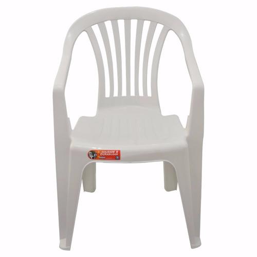 cadeira poltrona de plastico boa vista empilhável atacado
