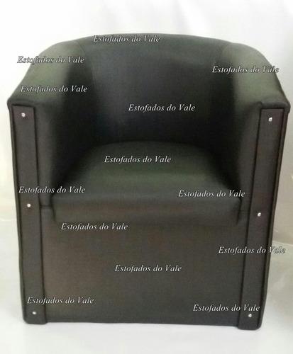 cadeira poltrona espera - ferradura