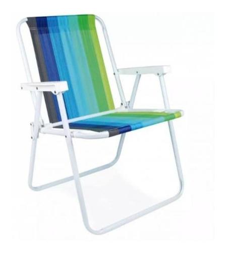 cadeira praia aco