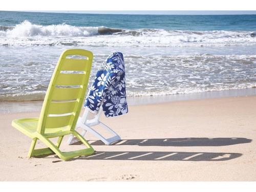 cadeira praia piscina branca guaruja lar tramontina 92051010