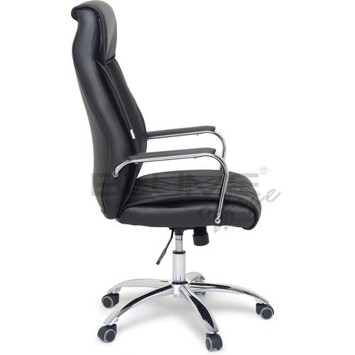 cadeira presidente em couro ecológico costurado c/ relax