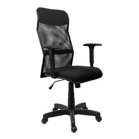 Cadeira Presidente Tela Com Relax Braços Reguláveis