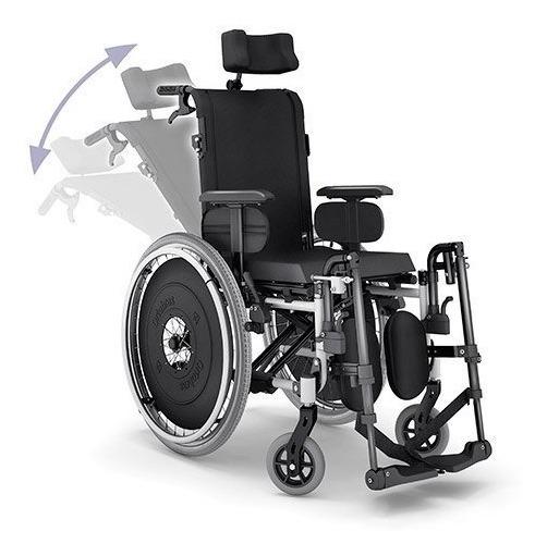 fa2f9973e Cadeira Rodas Aluminio Avd Reclinavel / Elevavel Ortobras - R$ 2.580 ...