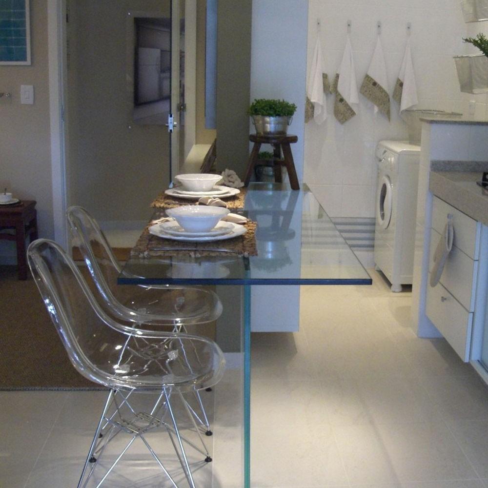 Cadeira Acrilico Transparente Sala De Jantar Eames Eiffel R 339  -> Cadeiras Para Sala De Jantar Acrilico