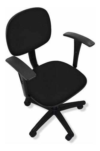 cadeira secretaria com braço fixo - promoção de fabrica