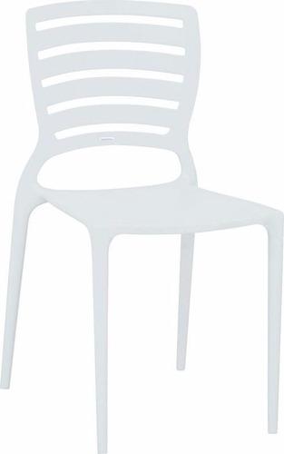 cadeira sofia encosto vazado branca 92237/010 tramontina